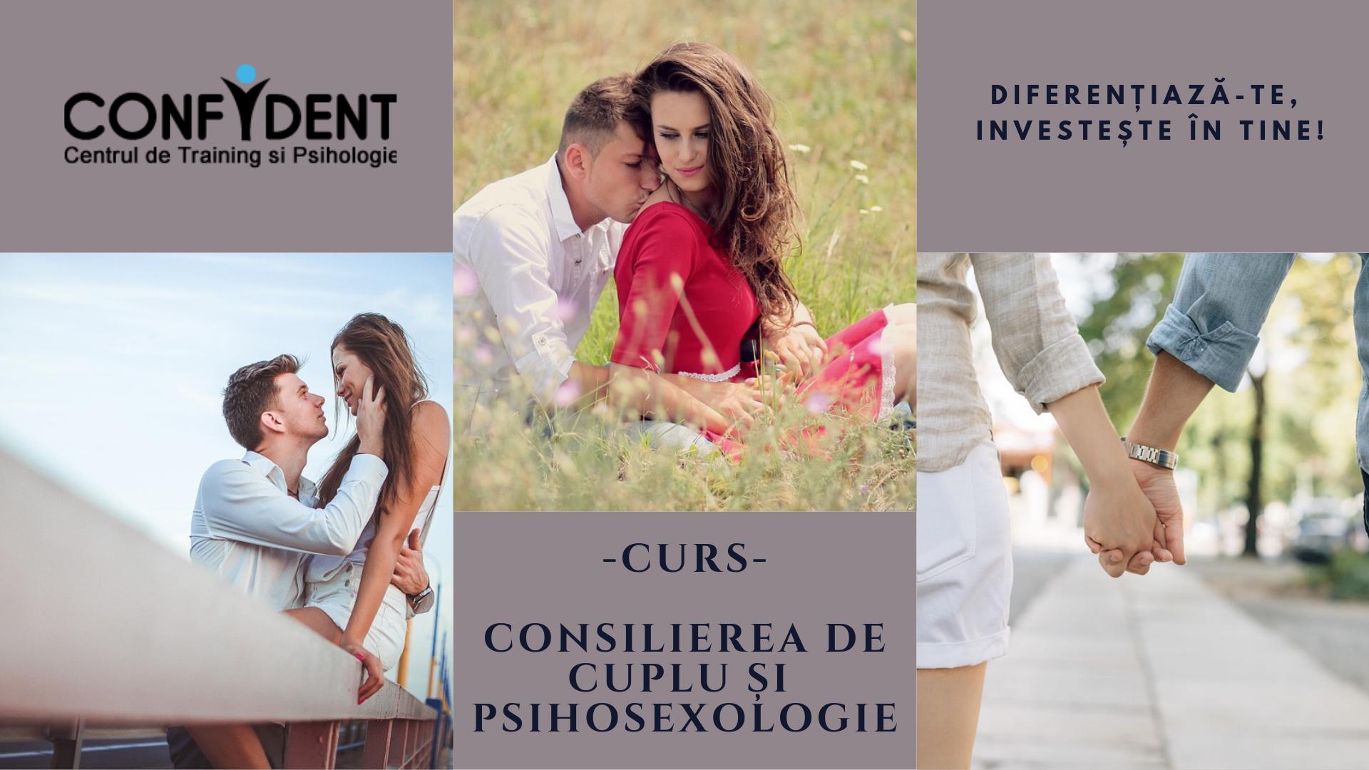 curs consilierea cuplurilor si psihosexologie